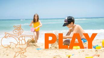 Kids Sandcastle Beach